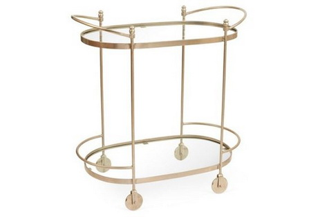 BC00008 Stainless steel bar cart