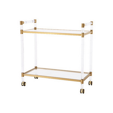 BC00012 Stainless steel bar cart