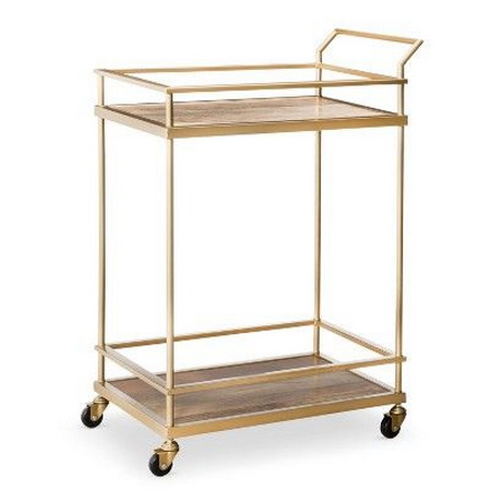 BC00014 Stainless steel bar cart
