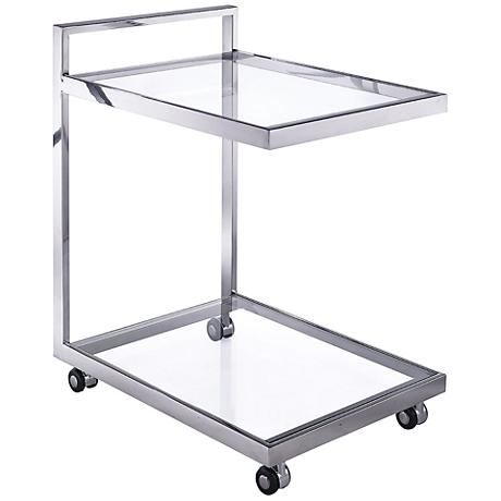 BC00017 Stainless steel bar cart