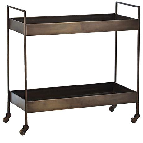 BC00021 Stainless steel bar cart