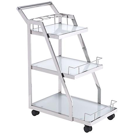 BC00022 Stainless steel bar cart