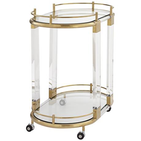 BC00024 Stainless steel bar cart