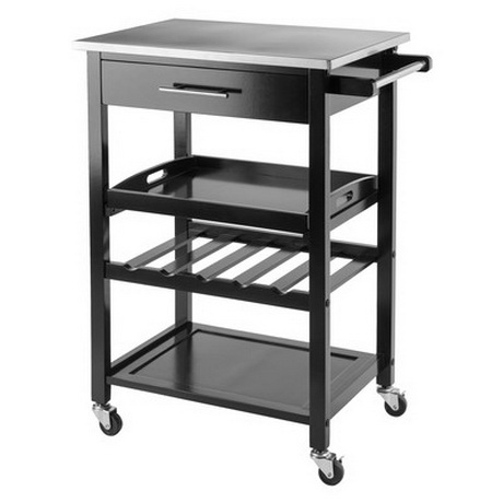 BC00081 SERVING FOOD TRAY BAR CART