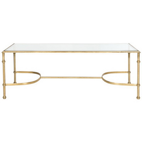 CT00034 modern stainless steel glass coffee table