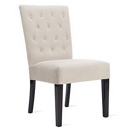 DC00040 High quality wood and polyester fabric dining chairs