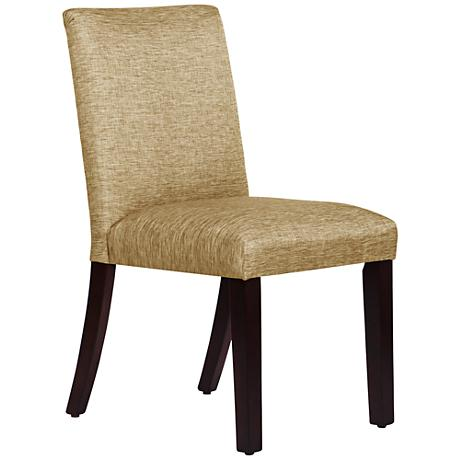 DC00104 High quality wood and polyester fabric dining chairs