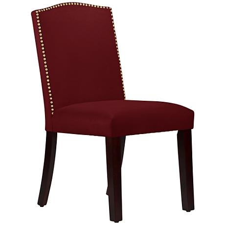 DC00106 High quality wood and polyester fabric dining chairs