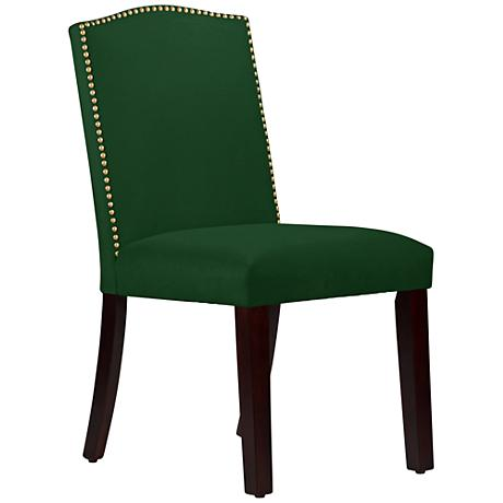 DC00112 High quality wood and polyester fabric dining chairs