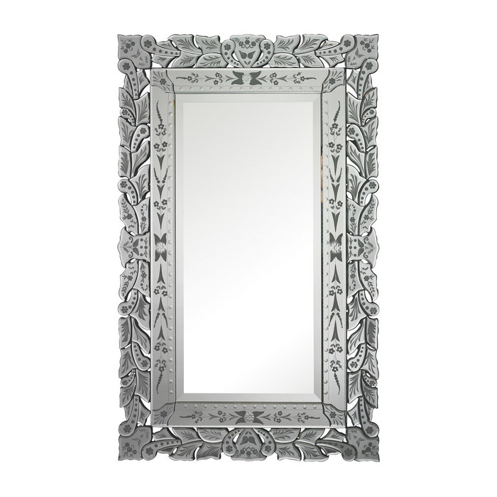 80006 Modern wall mirrors with full glass for hotel decorations