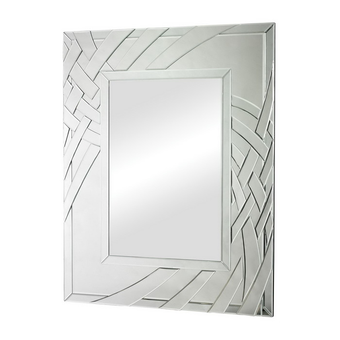 80007 Modern wall mirrors with full glass for hotel decorations