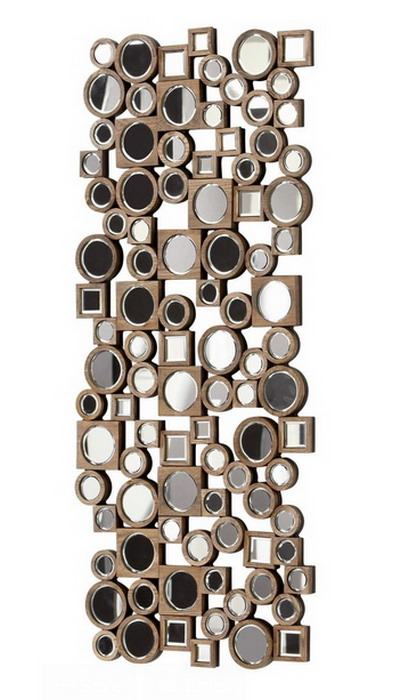 80020 Modern wall mirrors with full glass for hotel decorations