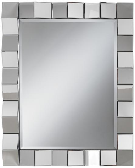 8258 Frameless Full glass Wall mirrors