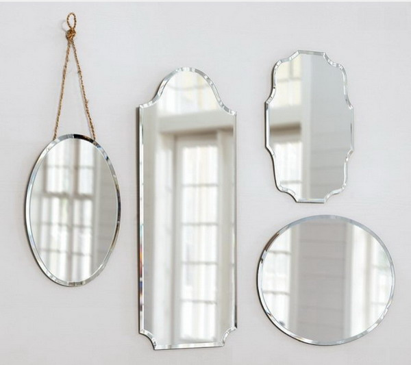 83154 Decorative venetian wall mirror for hotels decoration