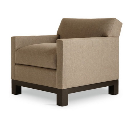 HFL00015 Hotel wooden lounge chair