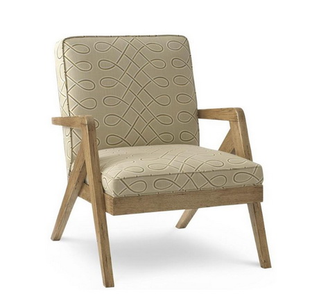 HFL00050 Hotel wooden lounge chair