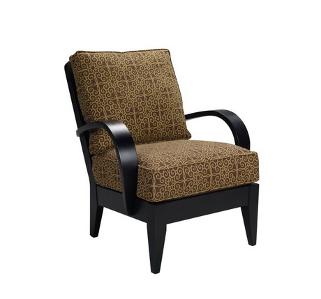 HFL00139 Hotel wooden lounge chair