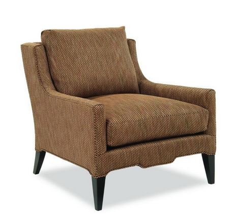 HFL00258 Upholstered butten tufted lounge chair, leisure chair o