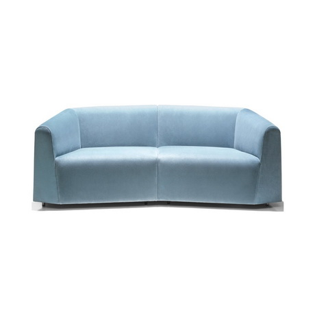 HS00006 Hotel leather sofa