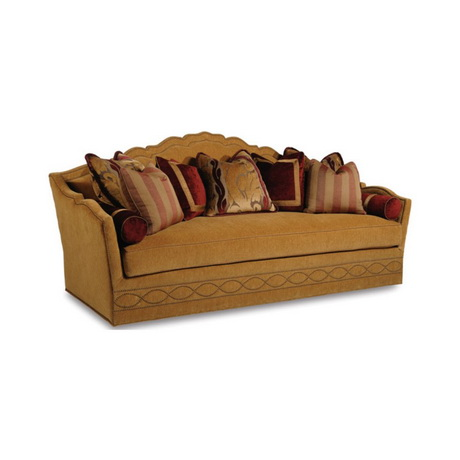 HS00008 Hotel leather sofa
