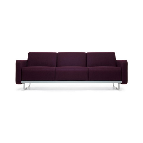 HS00013 Hotel leather sofa