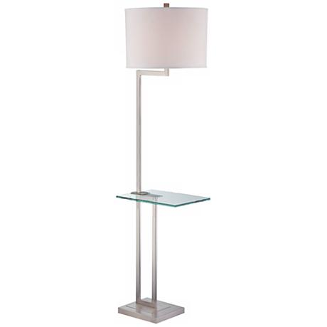 6610368 Steel floor lamp