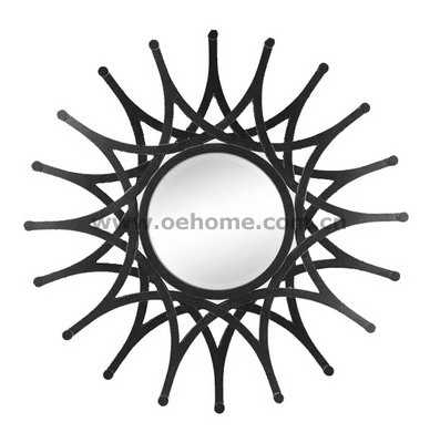 8301 Elgant high quality starburst mirror for home decoration