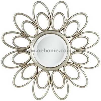 8304 Elgant high quality starburst mirror for home decoration