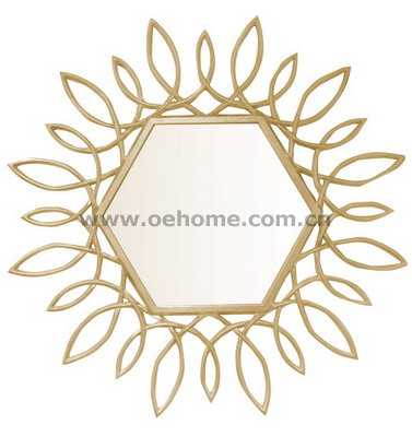 8315 Elgant high quality starburst mirror for home decoration