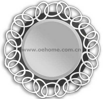 8458 Metal decorative wall mirrors for Hosipitality