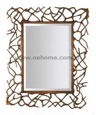 8473 Metal decorative wall mirrors for Hosipitality