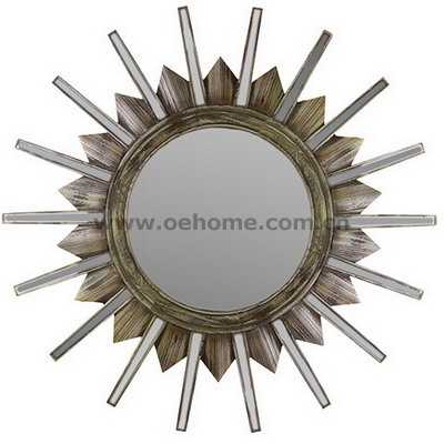 8491 Metal decorative wall mirrors for Hosipitality