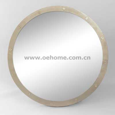 85010 Metal Wall mirrors with gold leaf finish