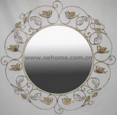 8511 Metal decorative wall mirrors for Hosipitality