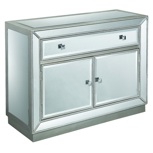 610003 Modern mirrored drawer cabinets chest