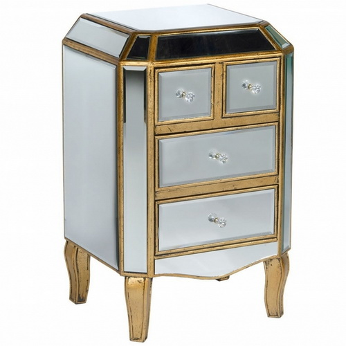 610471 wooden cabinet with drawer chest