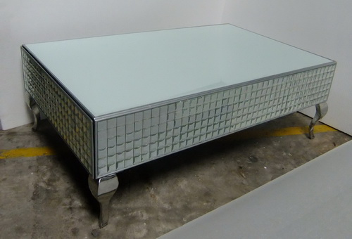 620023 Modern mirrored coffee table