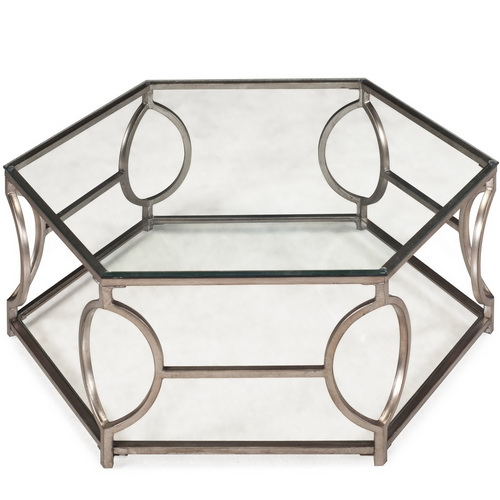 620031 Modern mirrored coffee table