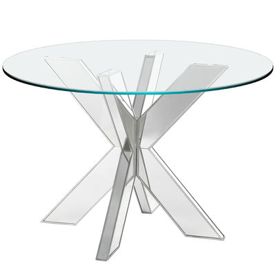 620052 Modern mirrored coffee table