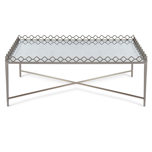 620053 Modern mirrored coffee table