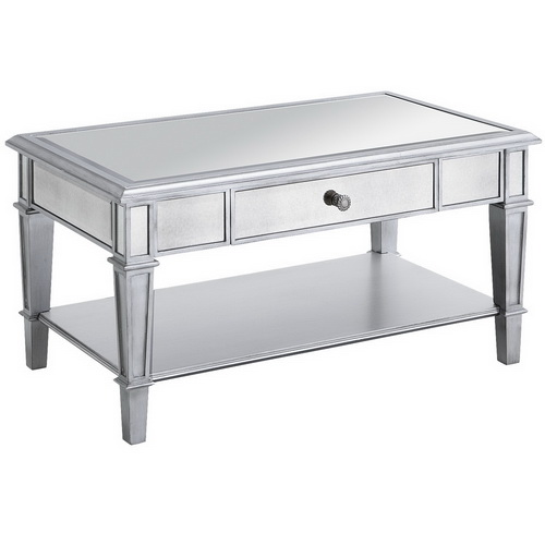 620070 Modern mirrored coffee table