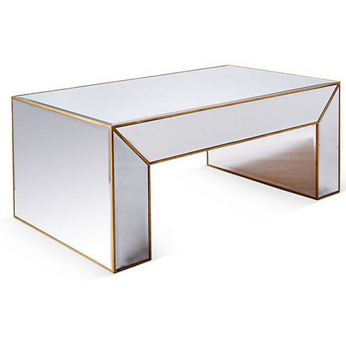 620072 Modern mirrored coffee table