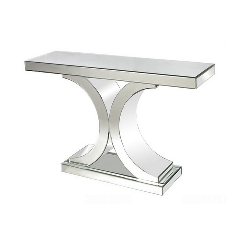 630001 Modern mirrored console table