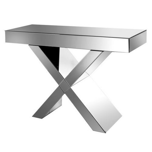 630004 Modern mirrored console table
