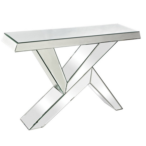 630005 Modern mirrored console table