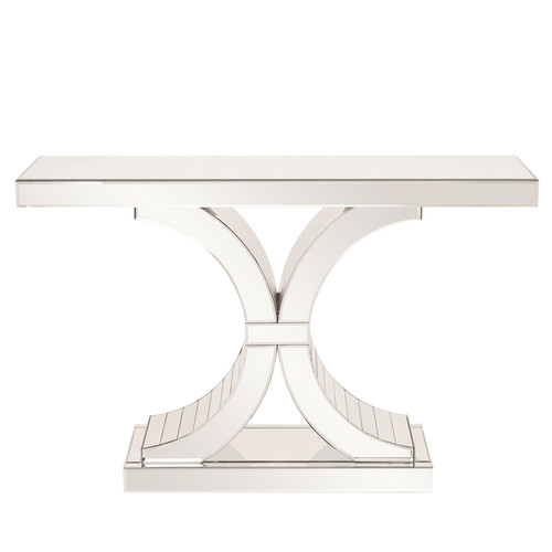 630006 Modern mirrored console table