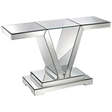 630008 console mirrored table modern