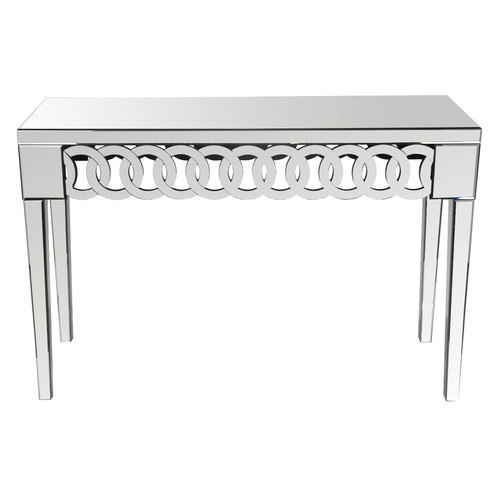 630018 console mirrored table modern