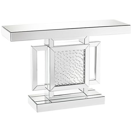 630062 hobby lobby mirrored console table