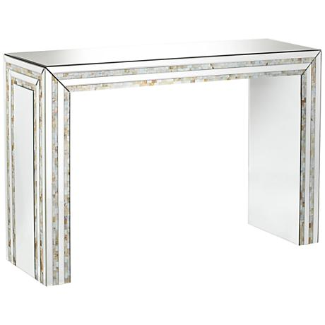 630087 hobby lobby mirrored console table